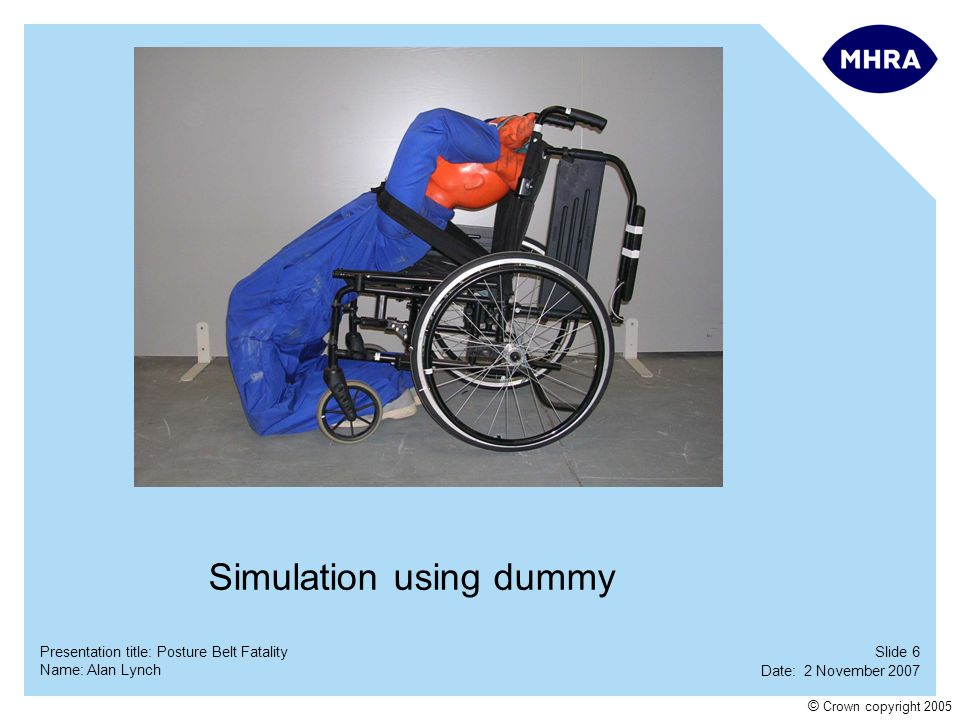 Simulation using dummy