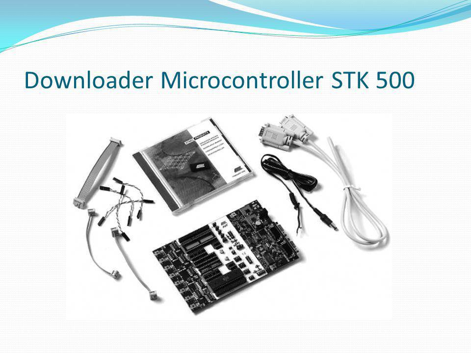 Downloader Microcontroller STK 500
