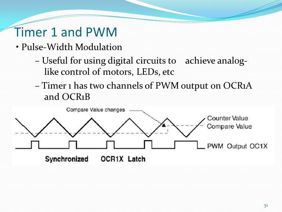 Timer 1 and PWM