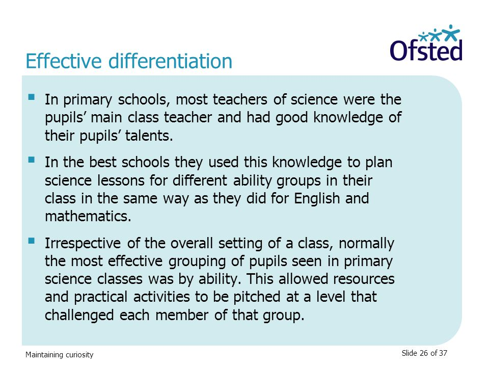 Effective differentiation