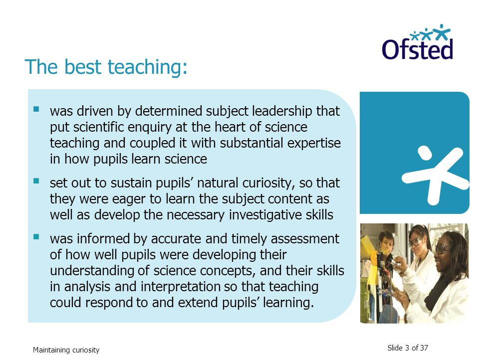 The best teaching:
