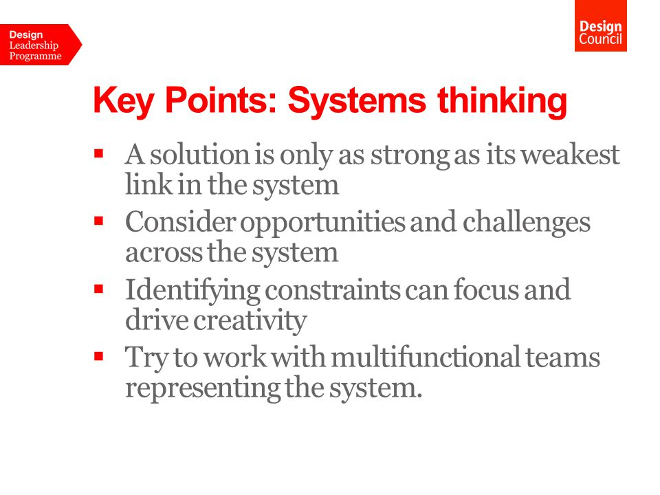 Systems thinking Open Innovation 10