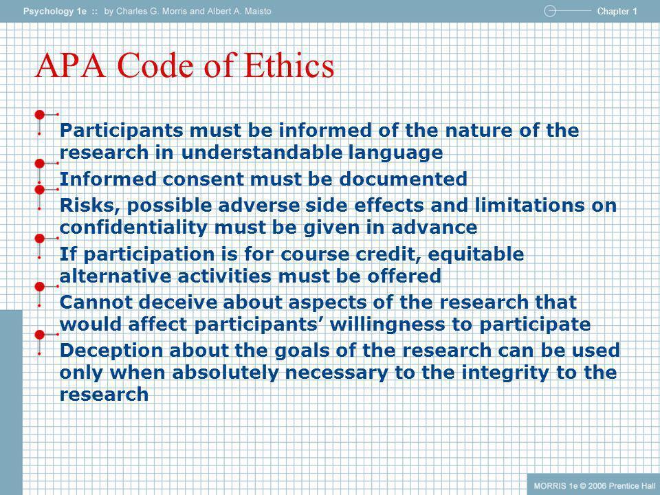 apa code of ethics pdf