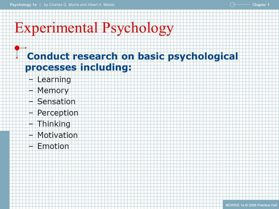 psychological processes motivation perception learning and memory Psychology class notes for psychology of memory process of forming a memory code in order to get information learning/conditioning memory motivation & emotion.