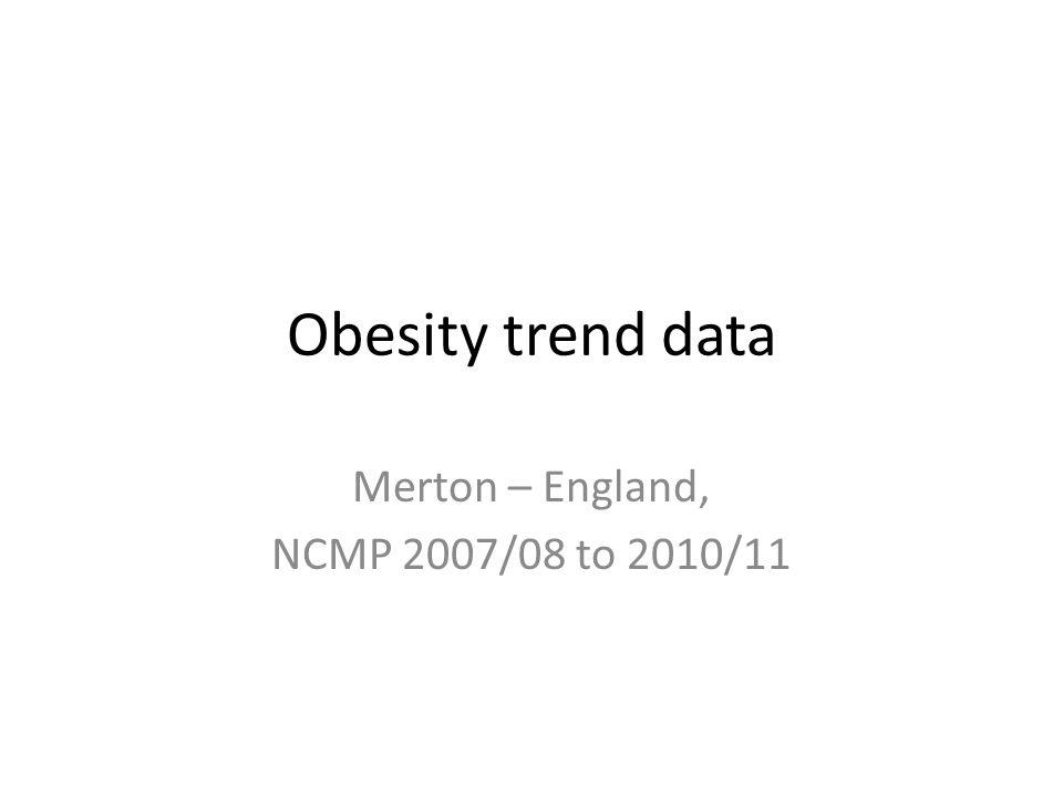 Merton – England, NCMP 2007/08 to 2010/11