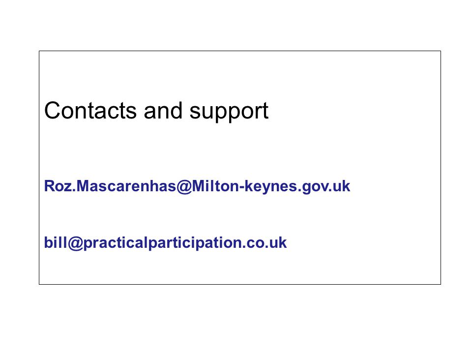 Contacts and support Roz.Mascarenhas@Milton-keynes.gov.uk