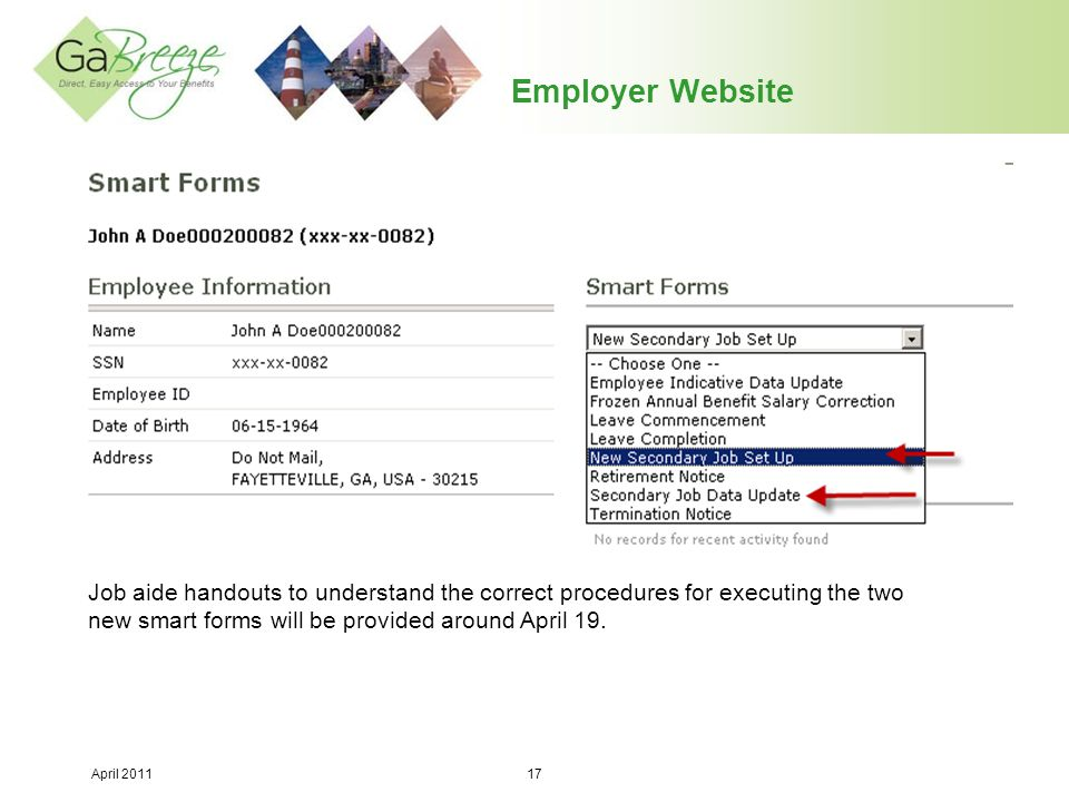 Employer Website Users may reset passwords to something familiar to them.