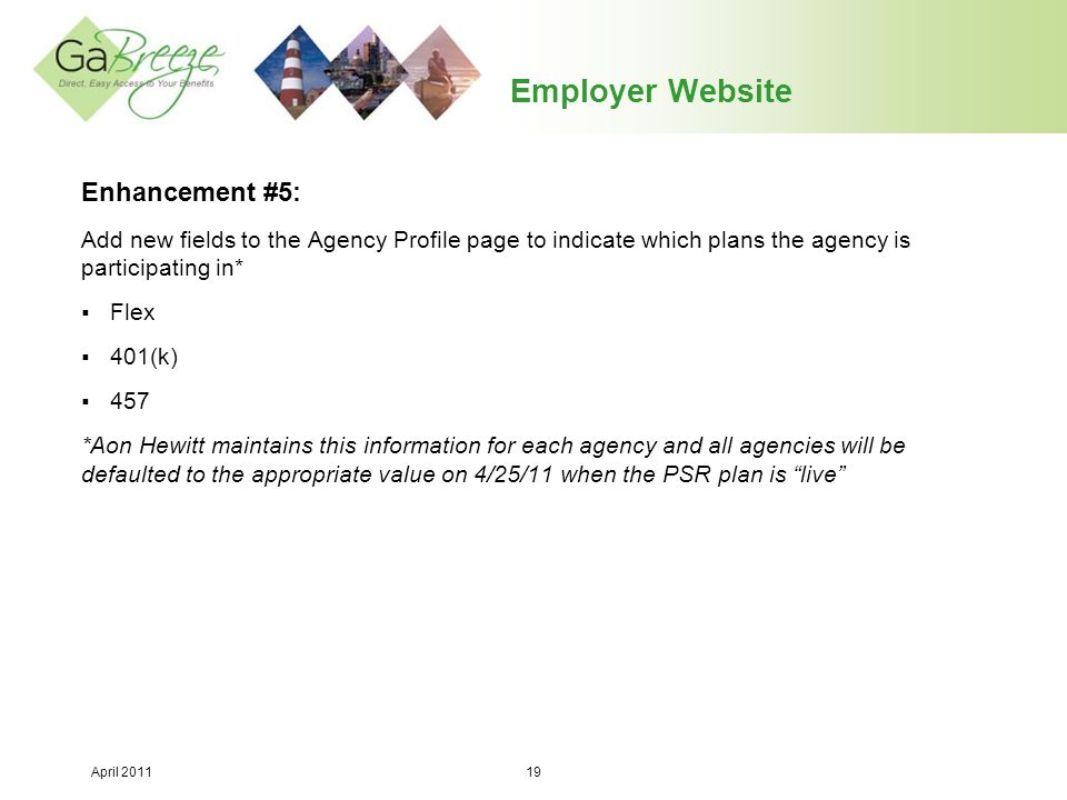 Employer Website Enhancement #5: