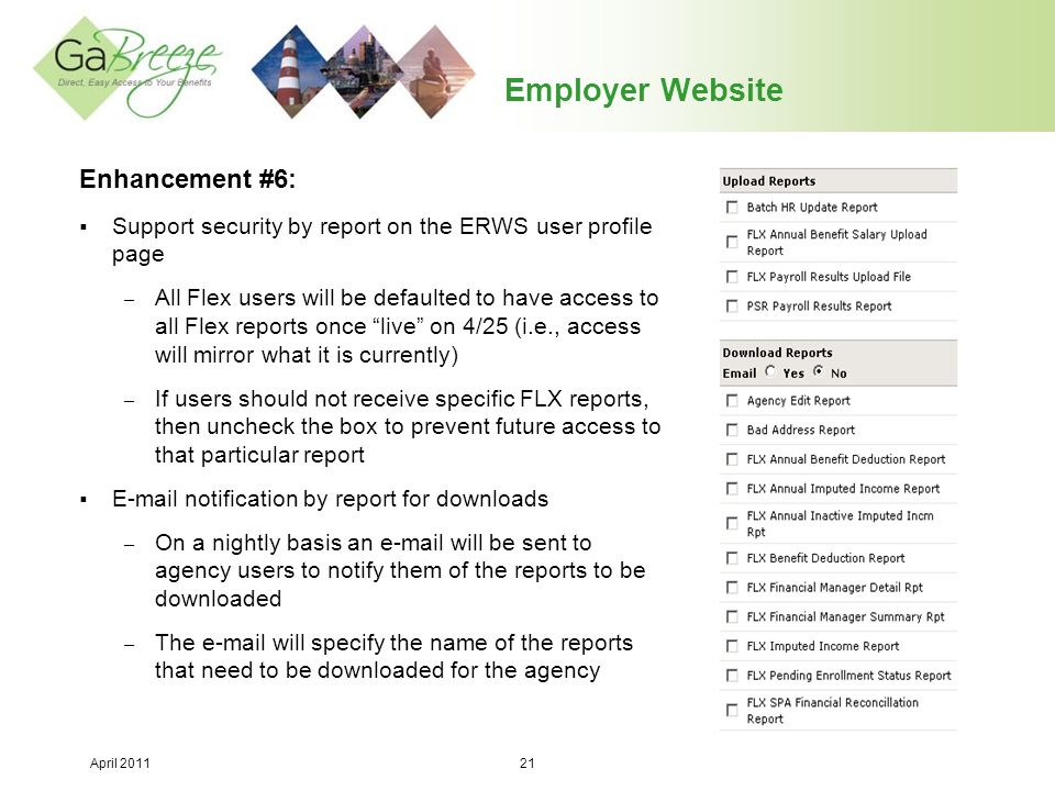 Employer Website Enhancement #6: