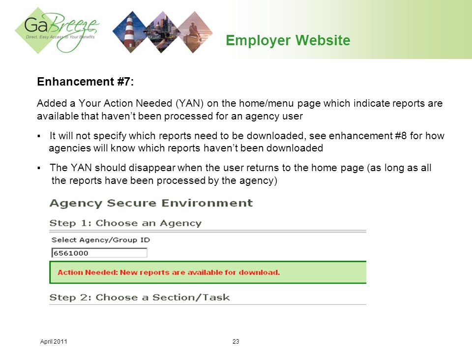 Employer Website Enhancement #7: