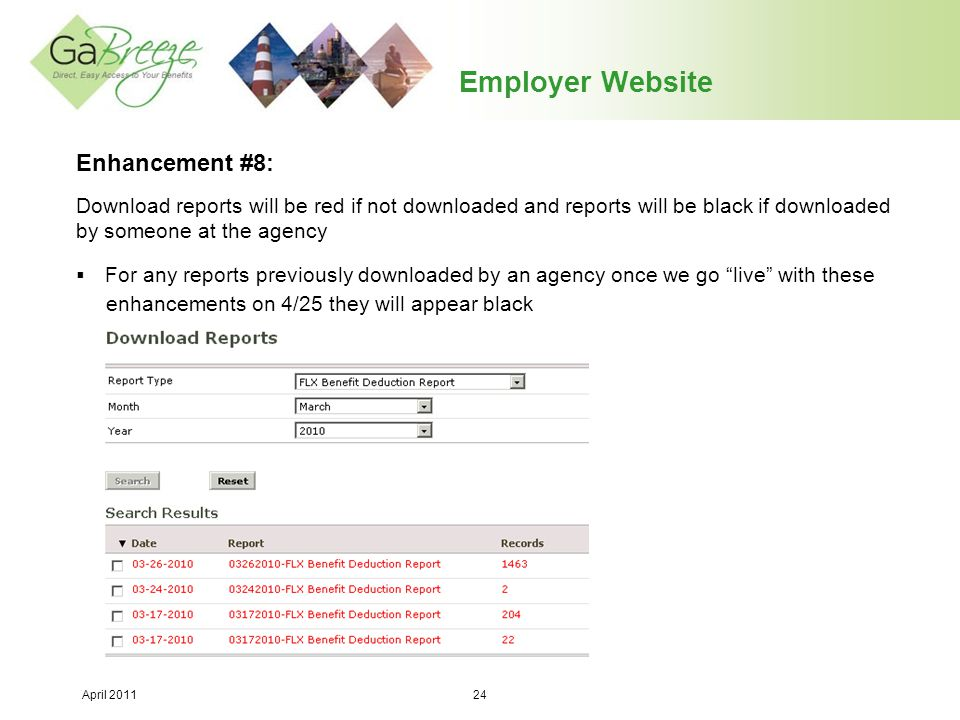 Employer Website Enhancement #8: