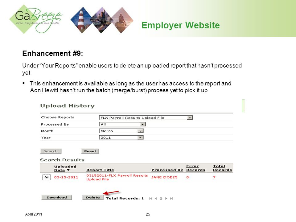 Employer Website Enhancement #9: