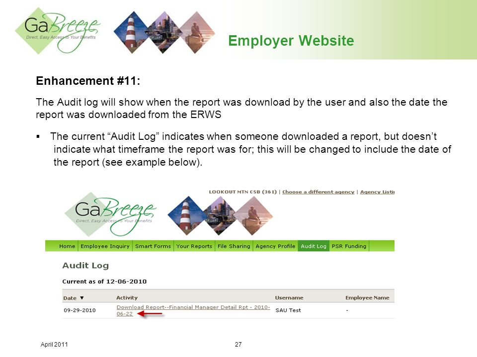 Employer Website Enhancement #11: