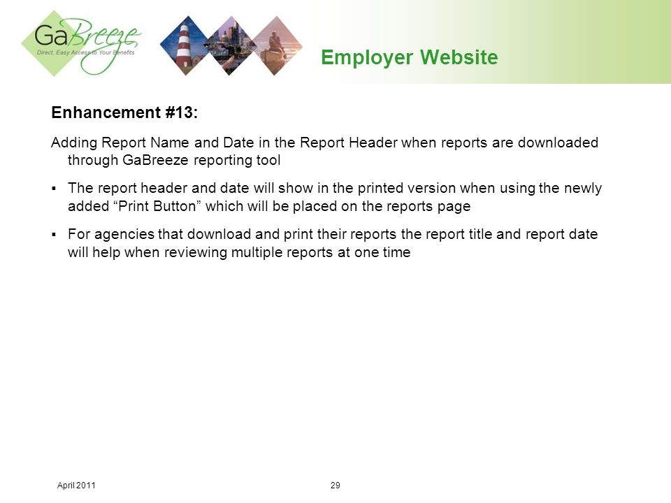 Employer Website Enhancement #13: