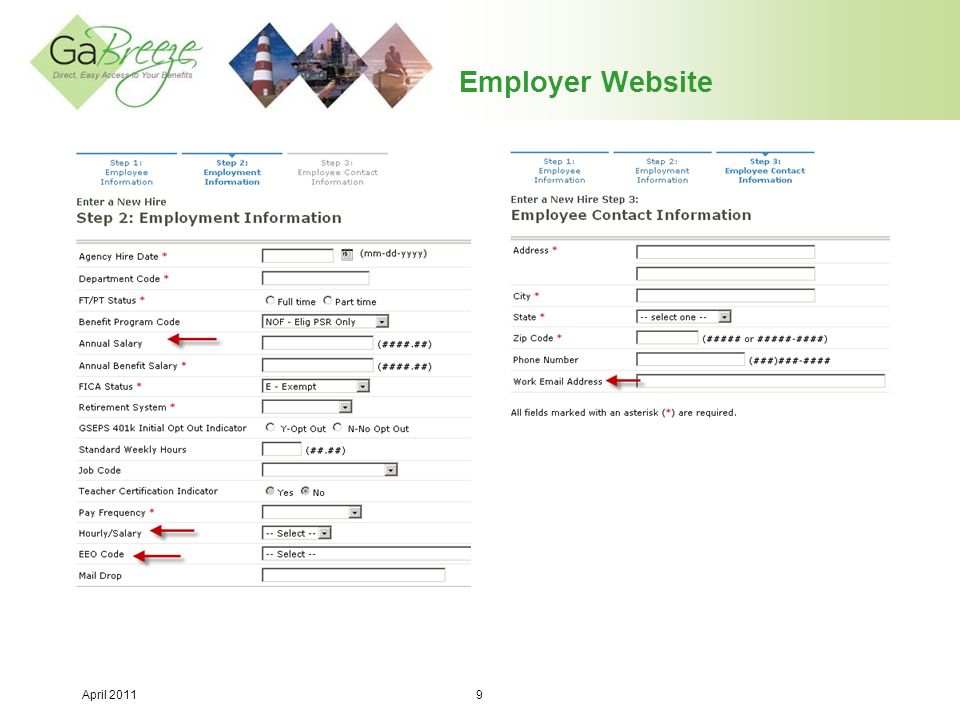Employer Website Users may reset passwords to something familiar to them