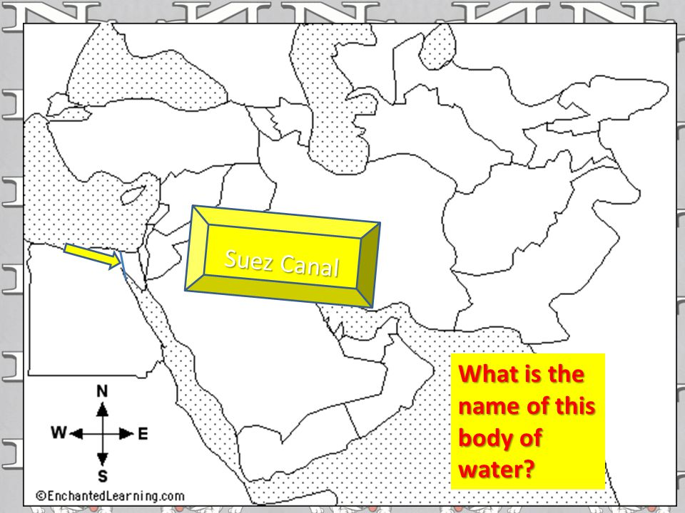 Suez Canal What is the name of this body of water