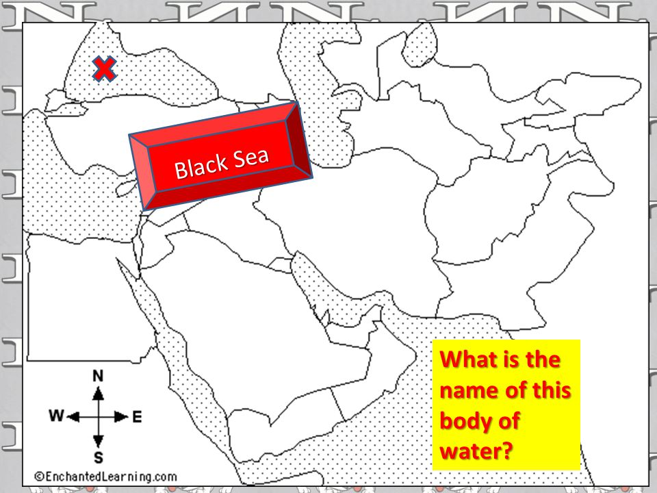 Black Sea What is the name of this body of water