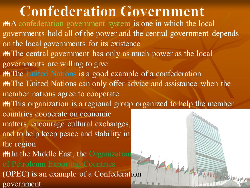 Confederation Government