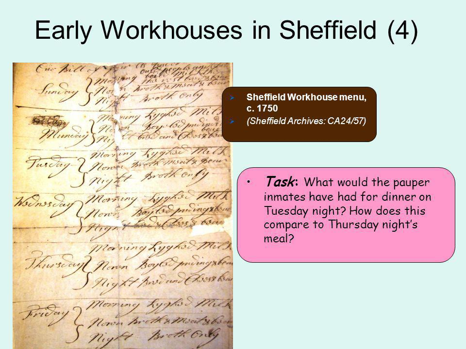 Early Workhouses in Sheffield (4)