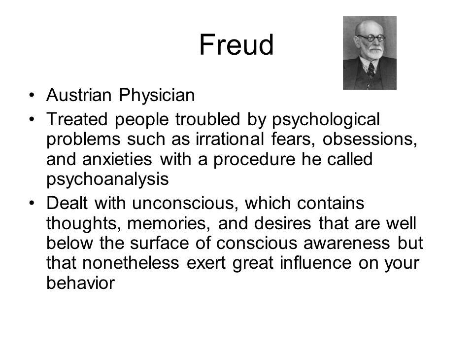 Freud Austrian Physician