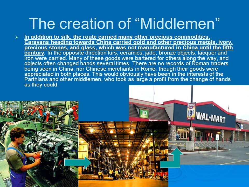 The creation of Middlemen