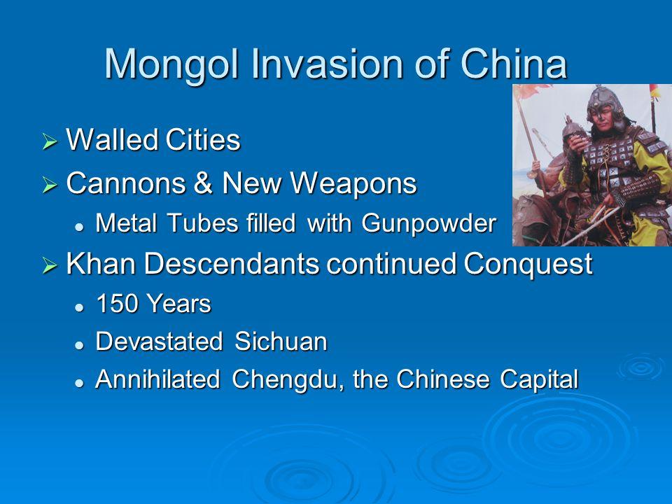 Mongol Invasion of China