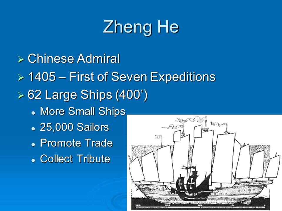 Zheng He Chinese Admiral 1405 – First of Seven Expeditions