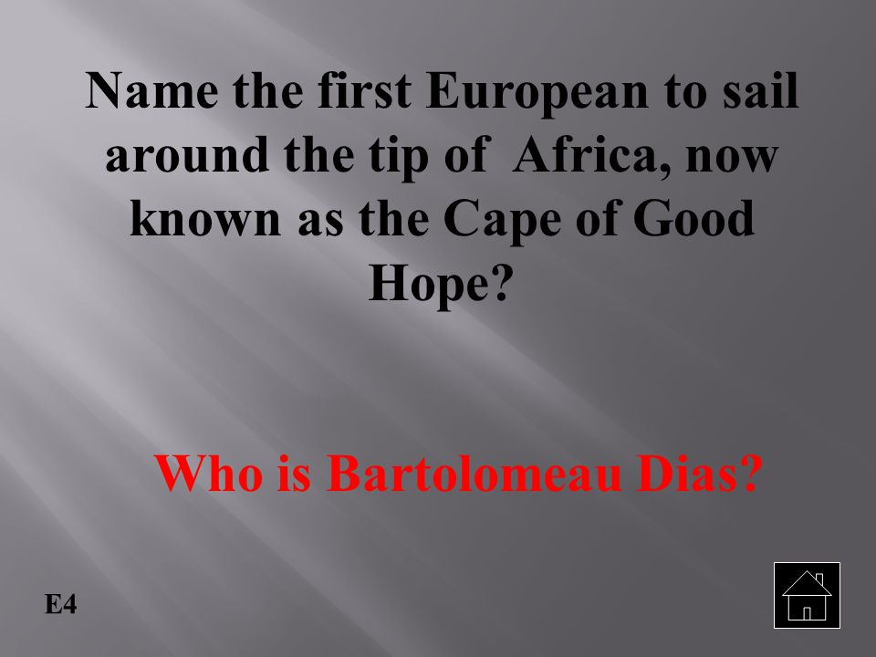 Who is Bartolomeau Dias