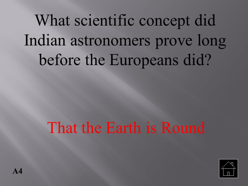 What scientific concept did Indian astronomers prove long before the Europeans did
