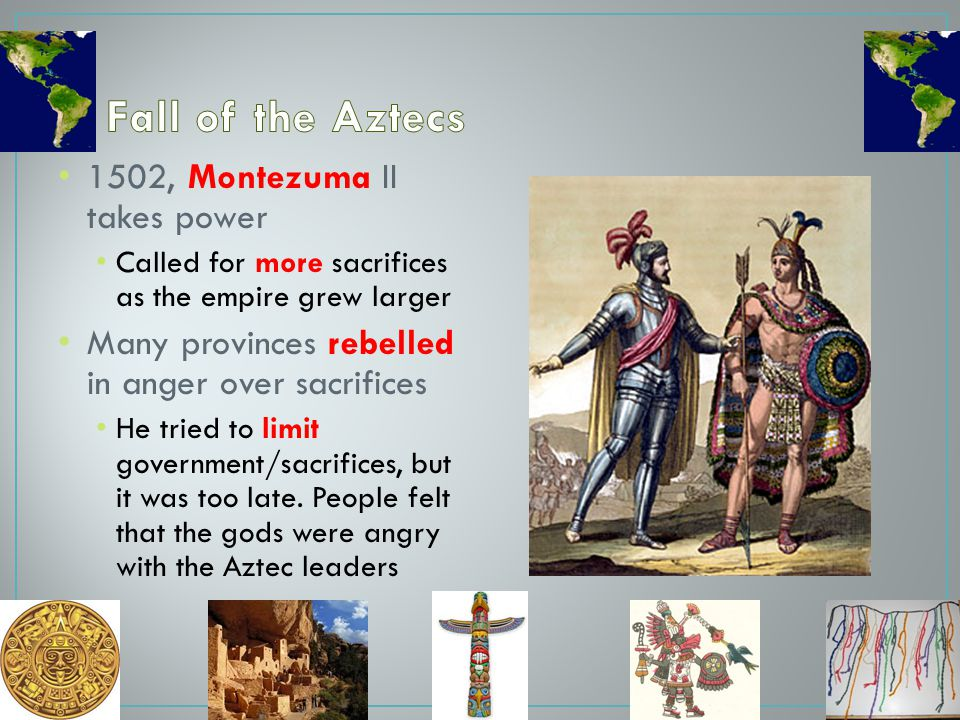 Fall of the Aztecs 1502, Montezuma II takes power
