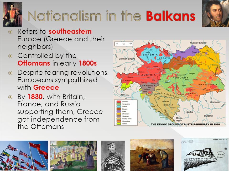 nationalism 1800 europe A new nationalism many of the territories occupied by napoleon during his empire began to feel a new sense of nationalism during the occupation, napoleon destroyed and disallowed many nation's individual cultures, and the people of these nations greatly resented this.