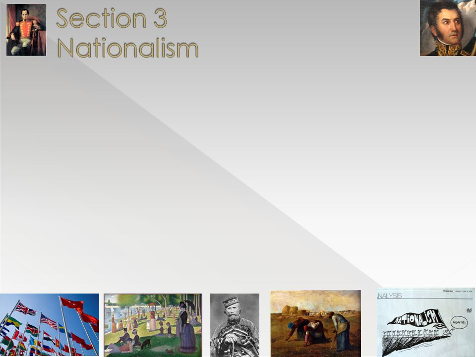 Section 3 Nationalism