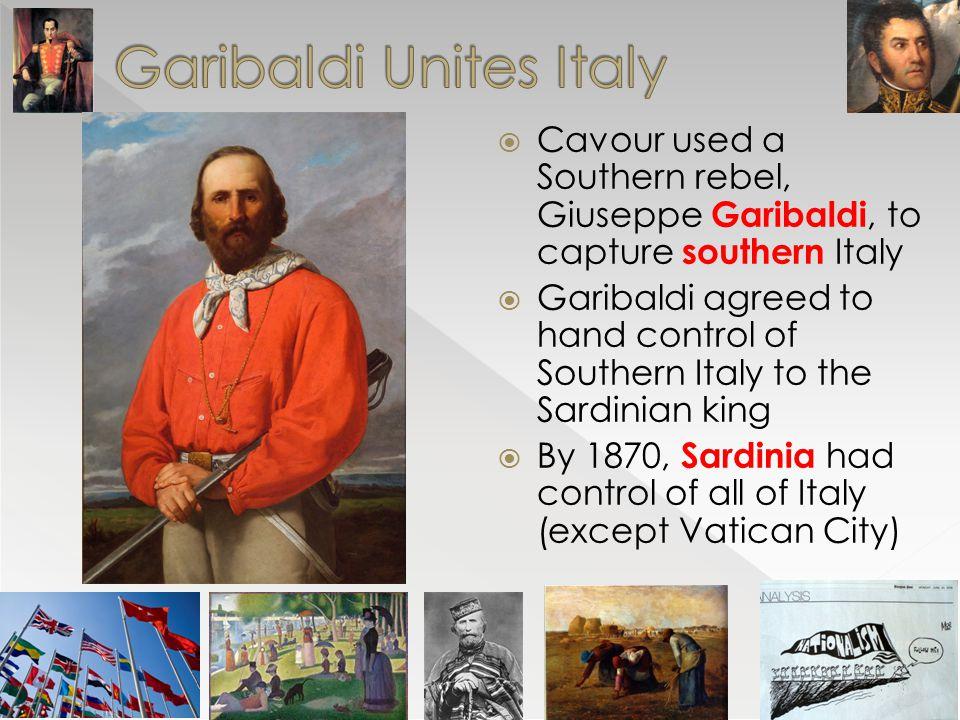 Garibaldi Unites Italy