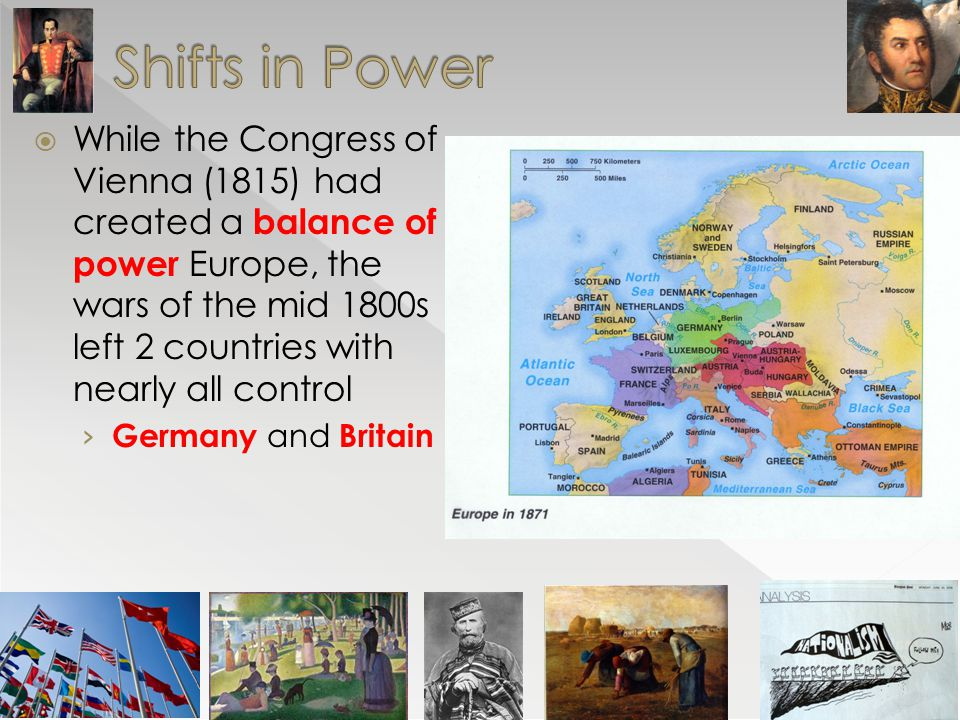 Shifts in Power