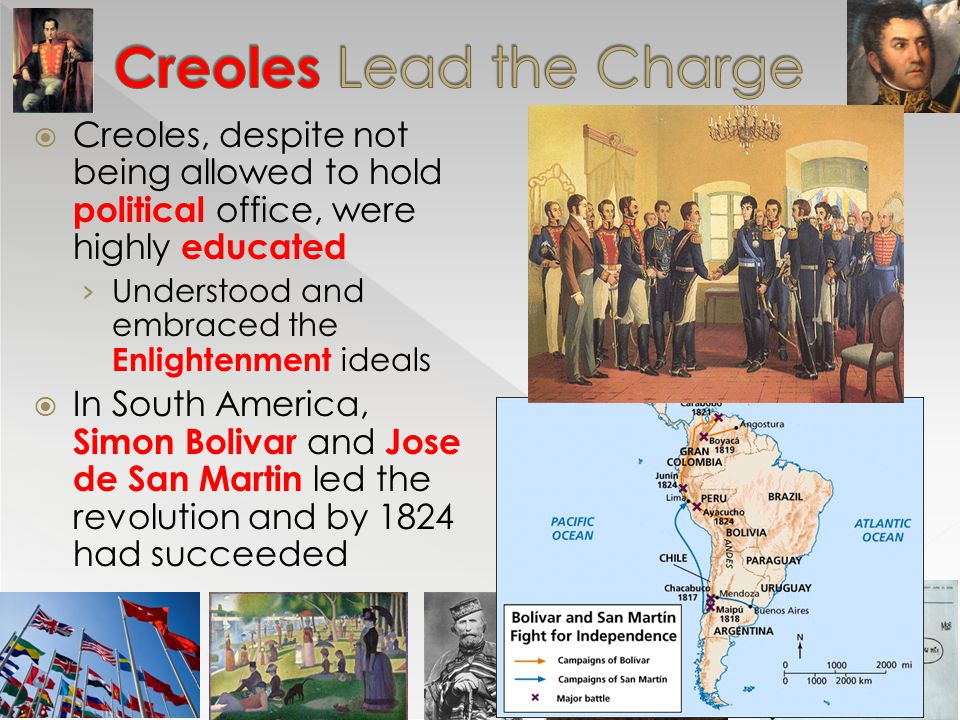 Creoles Lead the Charge