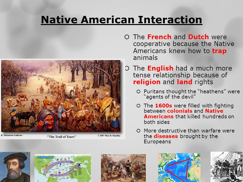 Native American Interaction