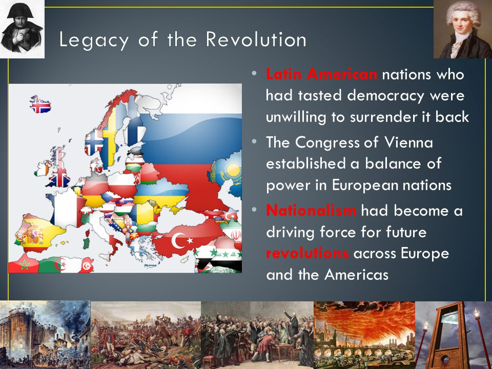 Legacy of the Revolution