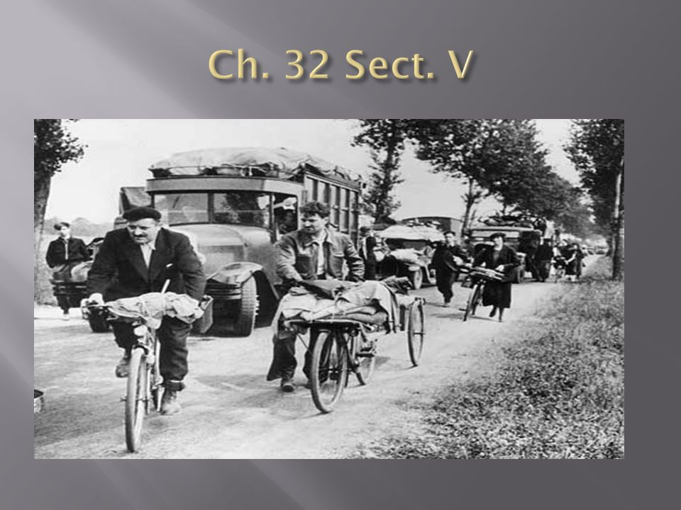 Ch. 32 Sect. V