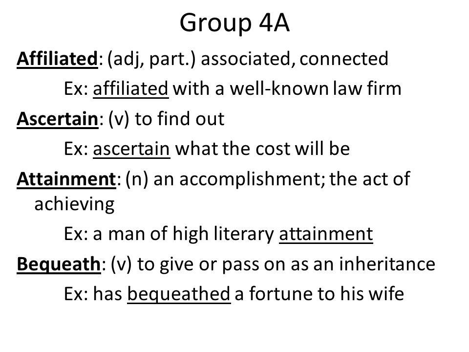 Group 4A
