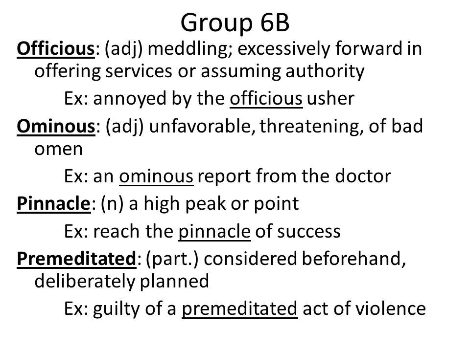 Group 6B