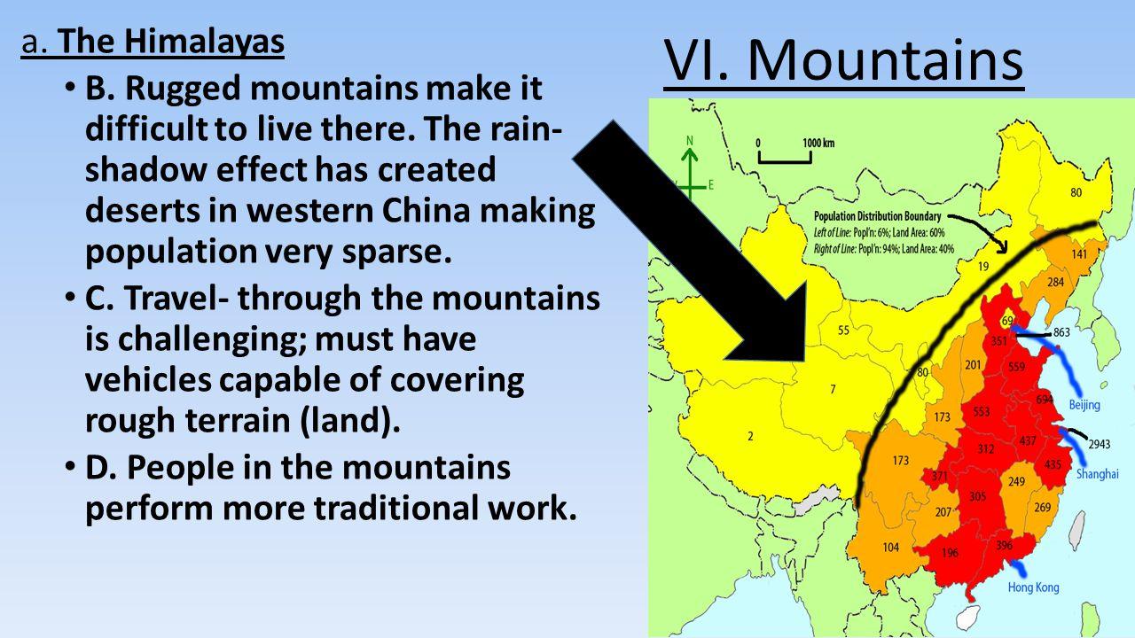 VI. Mountains a. The Himalayas