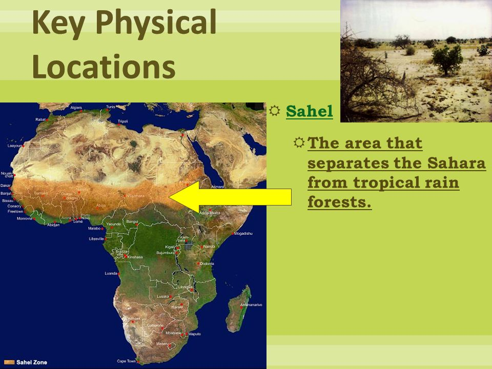 Key Physical Locations