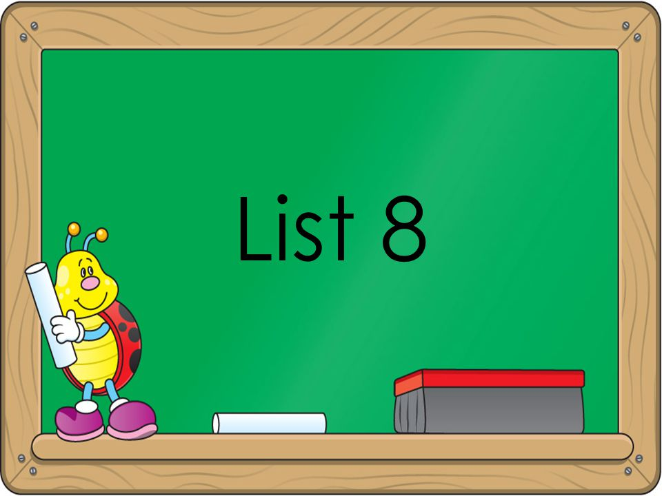 List 8