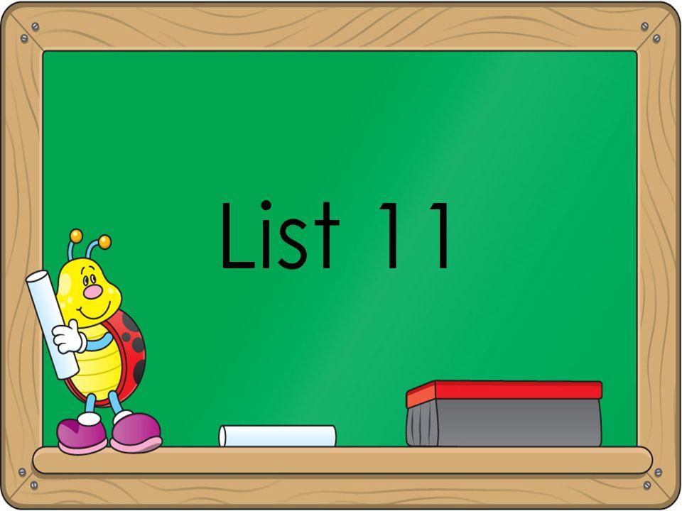 List 11