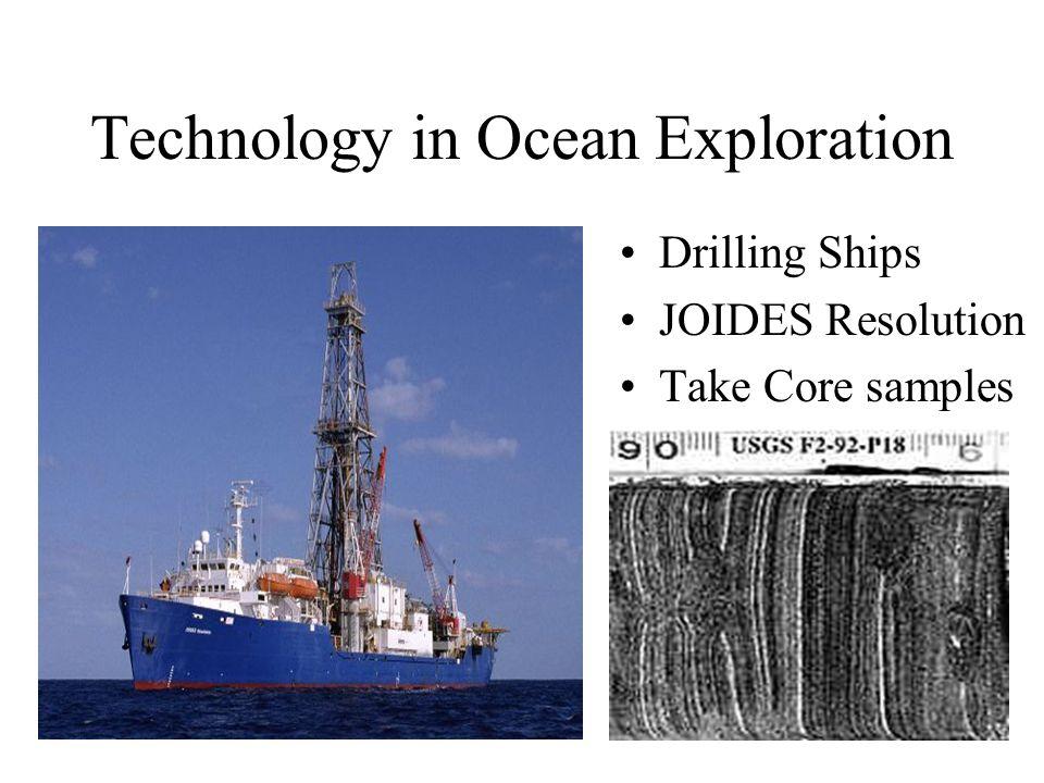 Technology in Ocean Exploration