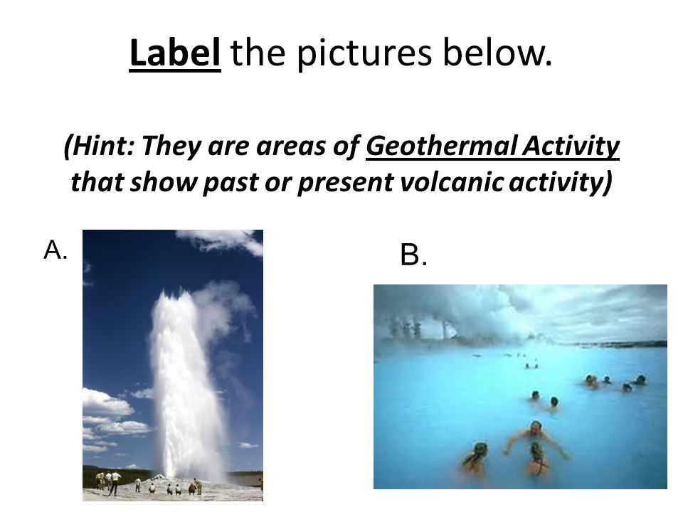 Label the pictures below