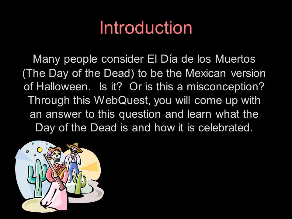 2 introduction - Halloween Web Quest