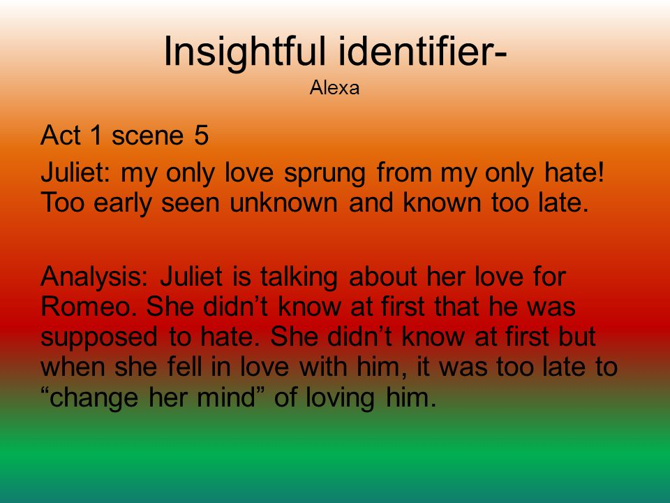 Insightful identifier- Alexa