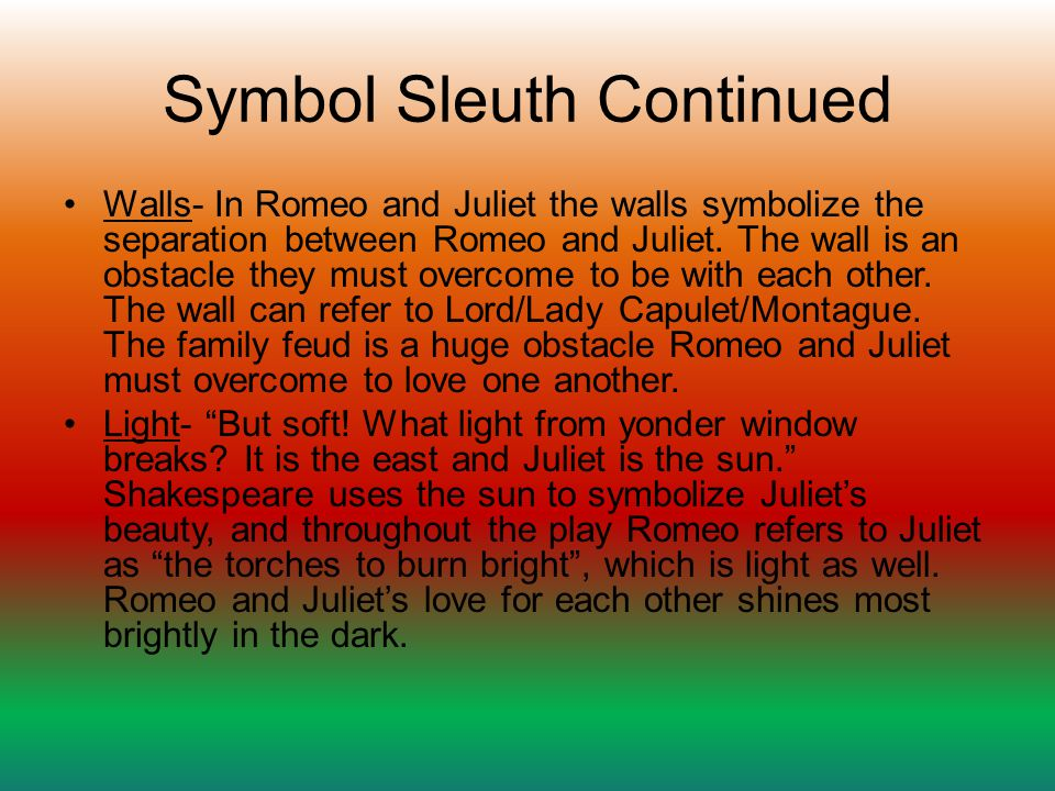 Symbol Sleuth Continued