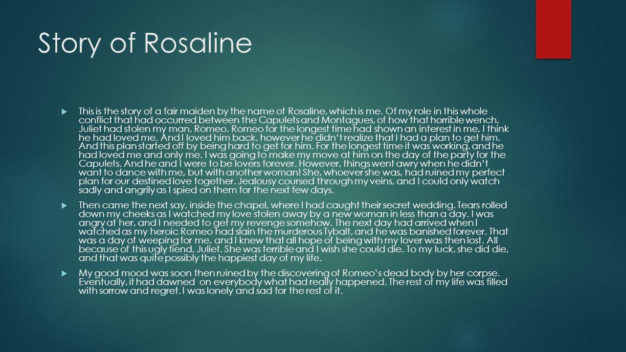 Story of Rosaline